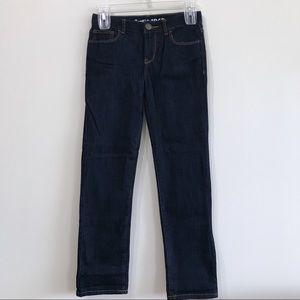 NWOT GAP Kids 1969 Dark Wash Straight Leg Jeans